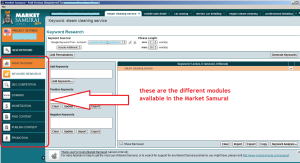 Market Samurai Modules
